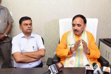 Dr. Mahendra Nath Pandey assumes office as Cabinet Minister Image-03