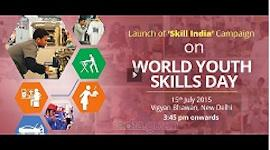 Launch of Skill India Campaign on World Youth Skills Day